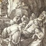 VAN LEYDEN Entierro Cristo