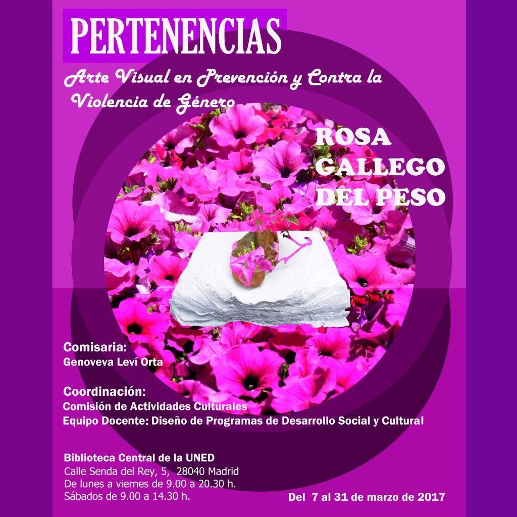 Rosa Gallego contra la violencia de género