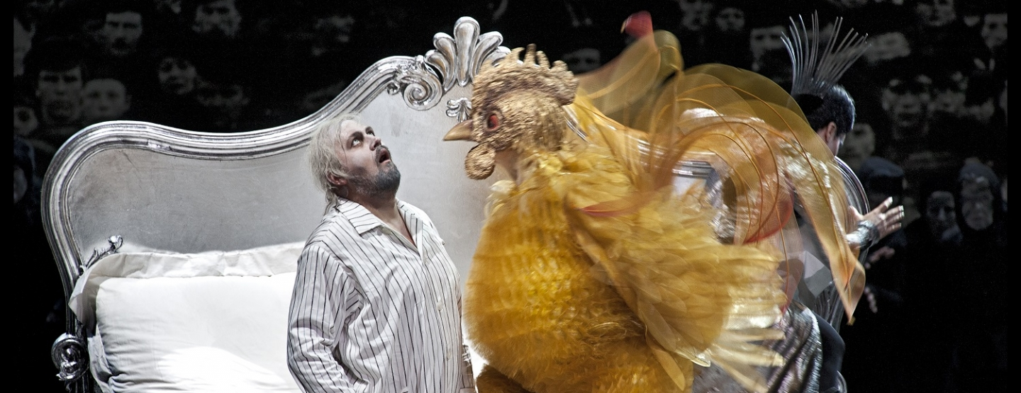 """El gallo de oro"" de Pushkin en el Teatro Real"