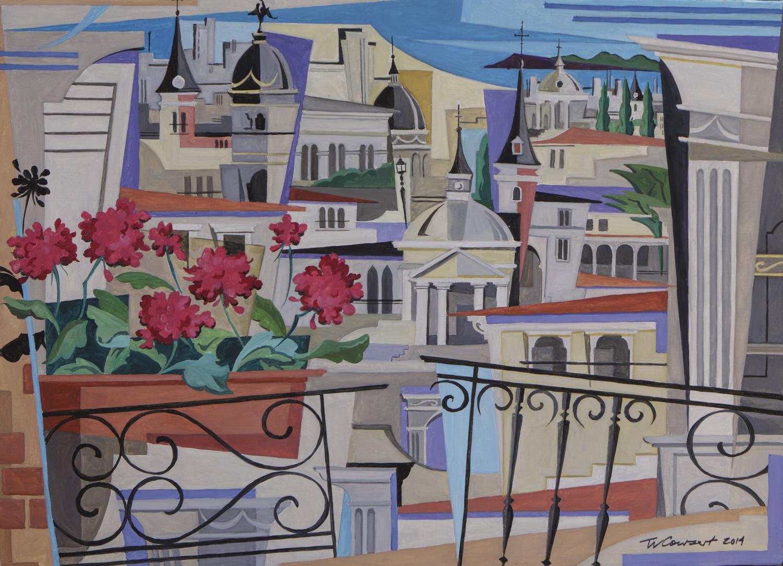 Tom Cowsert, pintor colorista norteamericano