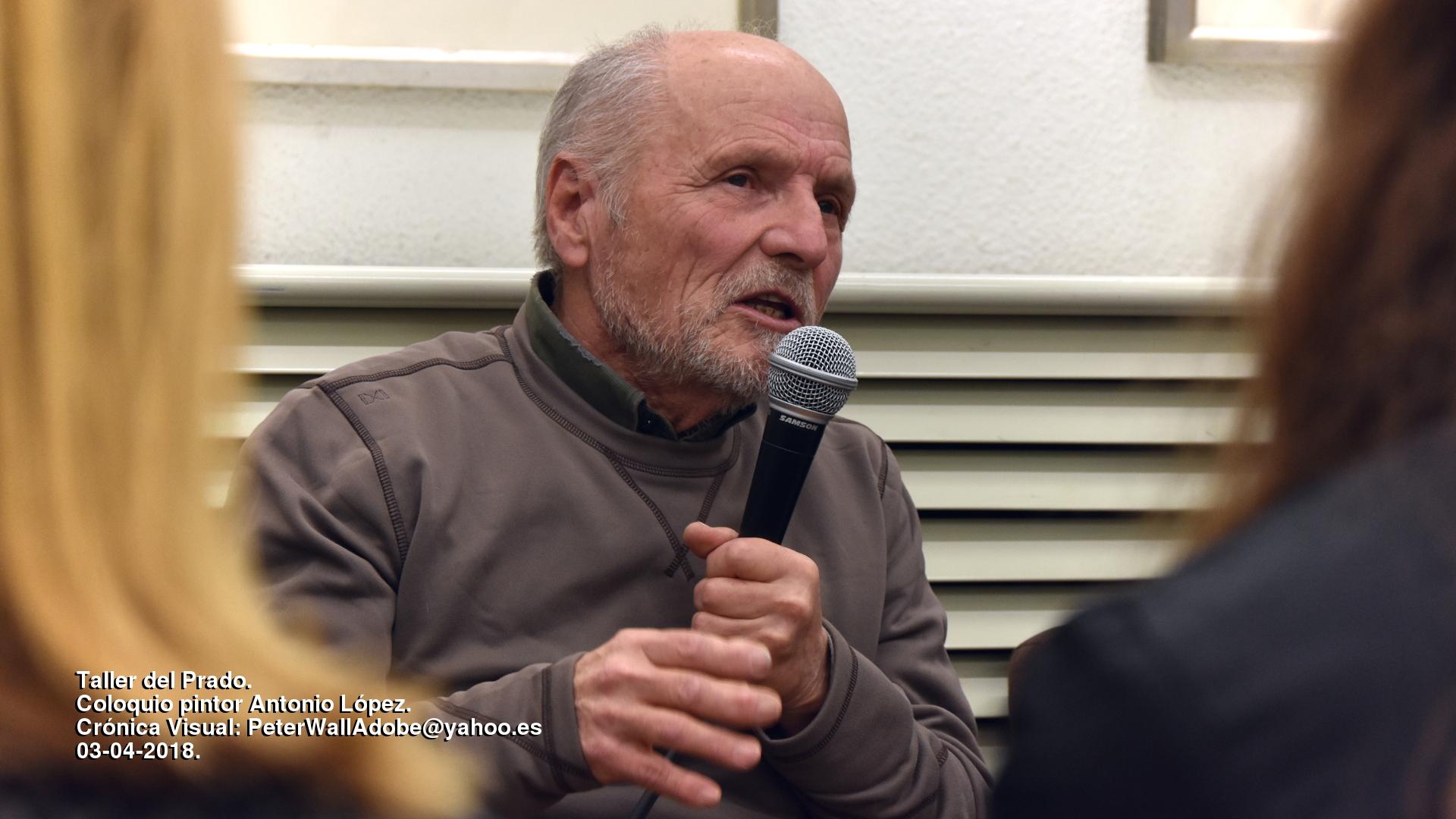 Antonio López, comunicativo y provocador en el Taller del Prado