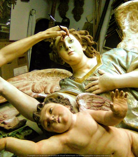 María López de Castro: La restaturación de una obra de arte. La fundamental colaboración interdisciplinar