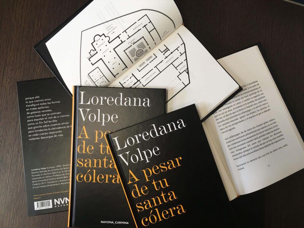 "Loredana Volpe: ""A pesar de tu santa cólera"""