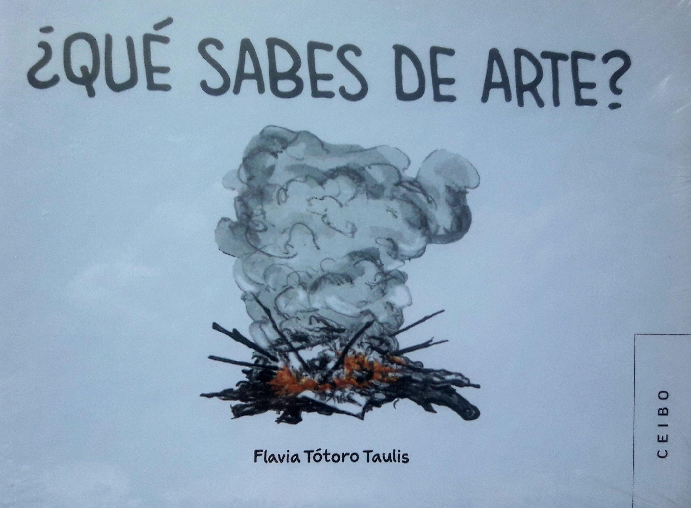 Flavia Tótoro Taulis: «¡Qué sabes de arte?»