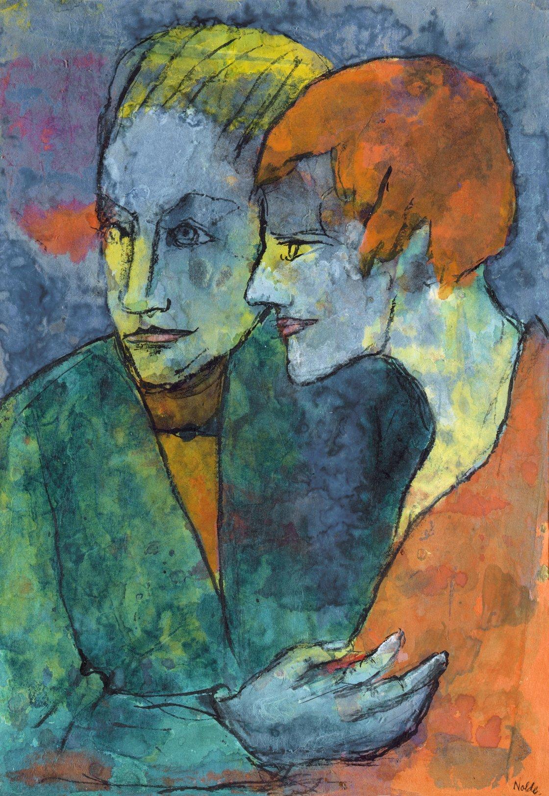 El expresionismo alemán en la colección del Barón Thyssen-Bornemisza.